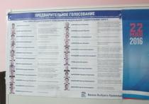 Промежуточные итоги голосования в Смоленской области