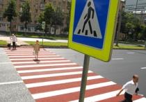 Москвичам предложат выбрать место для «зебр» и светофора